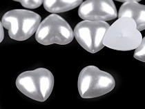 Perlové srdce / perly k nalepení