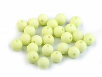 Perles acryliques mates, Ø 8 mm