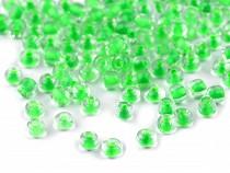 Üveg kásagyöngyök 6/0 - 4 mm-es nagy áthúzó