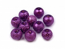 Round Glass Pearl Imitation Beads Ø8 mm Stardust