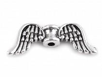 Metal Jewellery Spacer Wings 8x20 mm