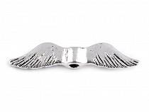 Metal Jewellery Spacer Wings 5x24 mm
