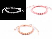 Bracelet Shamballa avec perles à facettes