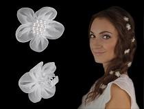 Clești de păr cu floare