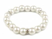 Brăţară elastică cu perle de sticlă