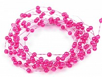 Ghirlandă decorativă perle, Ø2-3 mm