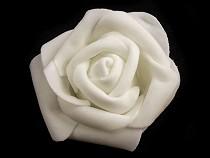 Dekorációs habszivacs rózsa Ø6 cm