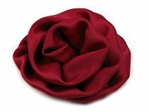 Szatén rózsa Ø70 mm