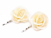 Agrafă trandafir, Ø4,5 cm