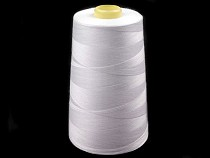 Polyester Thread length 5000 yards PES 40/2 Jason white