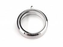 Pandantiv medalion rotund, 30 mm