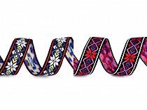 Native Indian Trim / Patterned Ribbon width 24 mm