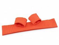 Bündchenstoff elastisch Breite 7 cm Set (2x Ärmel, 1x Taille)