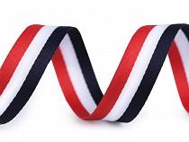 Bandă decorativă tricoloră, lățime 20 mm