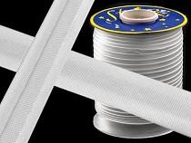 Schrägband Satin Breite 20mm  gefalzt  nicht ausgemessen