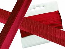 Satin Schrägband  Breite 30mm  gefalzt  ausgemessen