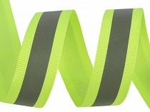 Taśma fluorescencyjna z odblaskiem szerokość 20 mm