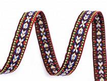 Paszomány / lampasz indián mintával szélessége 10 mm