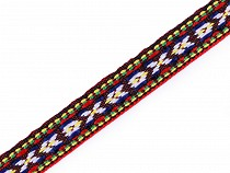 Native Indian Trim / Patterned Ribbon width 10 mm