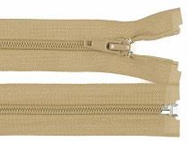Špirálový zips šírka 5 mm dĺžka 75 cm bundový POL