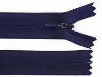Invisible Nylon Zipper width 3 mm length 55 cm