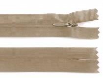 Rejtett spirálcipzár szélessége 3 mm hossza 50 cm dederon