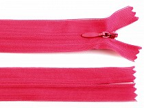 Invisible Nylon Zipper width 3 mm length 35 cm Dederon