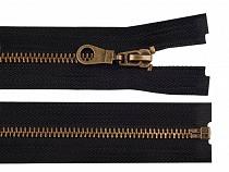 Metal Brass Zipper width 6 mm length 65 cm jacket