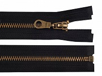 Metal Brass Zipper width 6 mm length 70 cm jacket