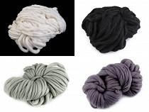 Fir de tricotat gros, cca 250 g