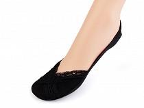 Csipke mintás balerína pamut zokni