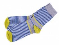 Pánske bavlnené ponožky farebné Wola