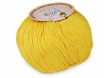 Fir de tricotat din bumbac Tina, 100 g