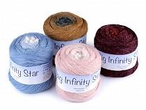 Pletací příze Big Infinity Star 100 g