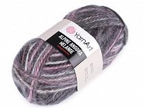 Fir de tricotat Alpine Angora Melange, 150 g