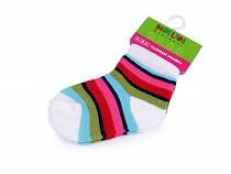 Dojčenské ponožky dievčenské veľ. 6-12 mesiacov