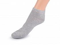 Pánské bavlněné ponožky kotníkové