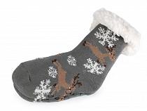 Detské ponožky zimné s protišmykom