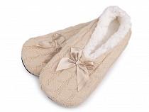 Dámské zimní balerínky s protiskluzem