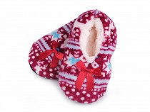 Thick Kids Sherpa Lined Thermal Fuzzy Slippers