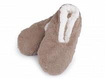 Női téli balerin cipő csúszásgátló