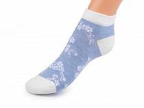 Dámské bavlněné ponožky kotníkové
