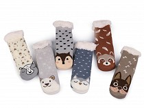 Children's Winter Socks Non-slip, Animals