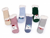 Kinder Winter Anti-Rutsch Kuschelsocken Tiere