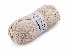 Bavlněná pletací příze Pearl Cotton 100 g