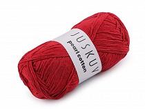 Bavlnená pletacia priadza Pearl Cotton 100 g