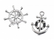 Brooch Rudder / Anchor