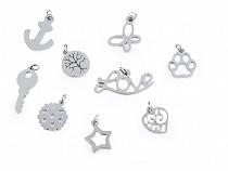 Pandantive din oțel inoxidabil, diverse modele