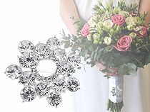 Rhinestone Brooch / Wedding Bouquet Decor