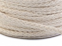 Cotton Candle Wick Ø4 mm braided, flat